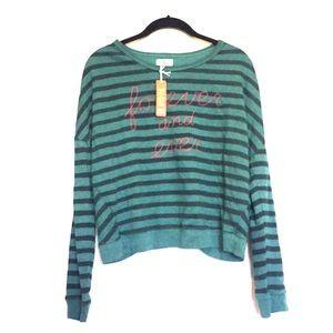 NWOT Sundry ' Forever and ever' Sweatshirt